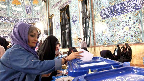 İran'da seçim - Sputnik Türkiye