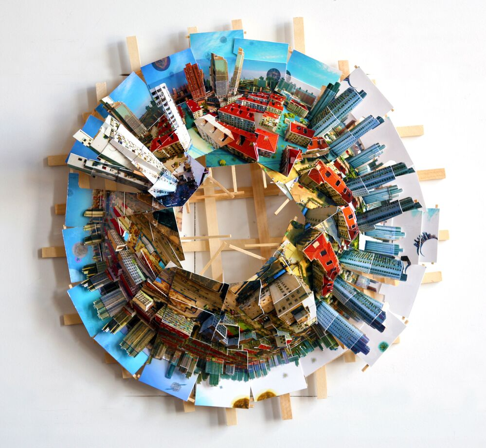 Şehirler gezegenlere dönüştü