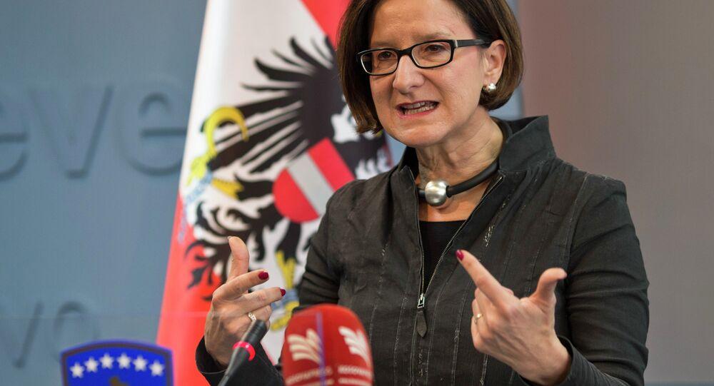 Avusturya İçişleri Bakanı Johanna Mikl-Leitner