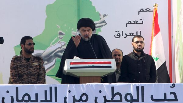 Iraklı Şii lider Mukteda El Sadr - Sputnik Türkiye