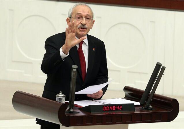CHP Genel Başkanı Kemal KIlıçdaroğlu