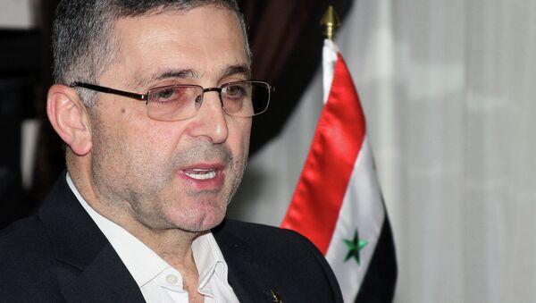 Suriye Ulusal Uzlaşma Bakanı Ali Haydar - Sputnik Türkiye