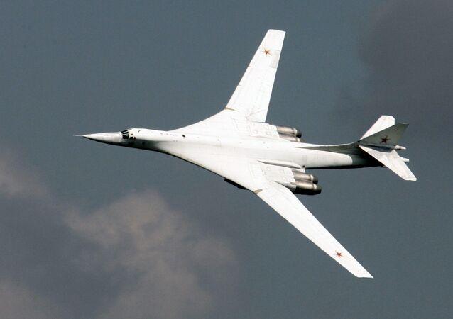 Tupolev Tu-160 stratejik bombardman uçağı