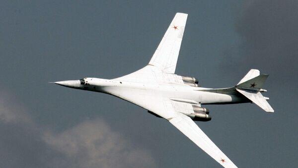 Tupolev Tu-160 stratejik bombardman uçağı - Sputnik Türkiye