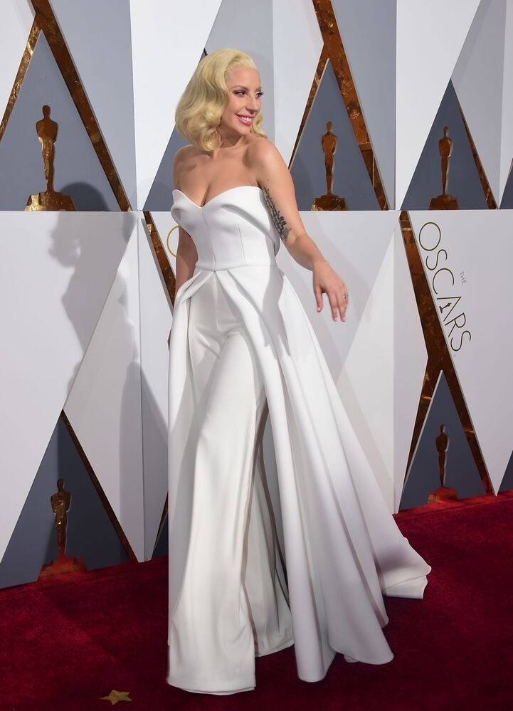 Lady Gaga Oscar ödül töreninde