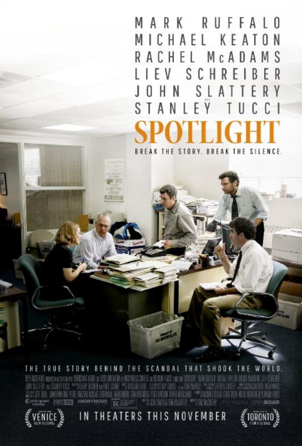 En iyi film Oscar'ını alan Spotlight filmi