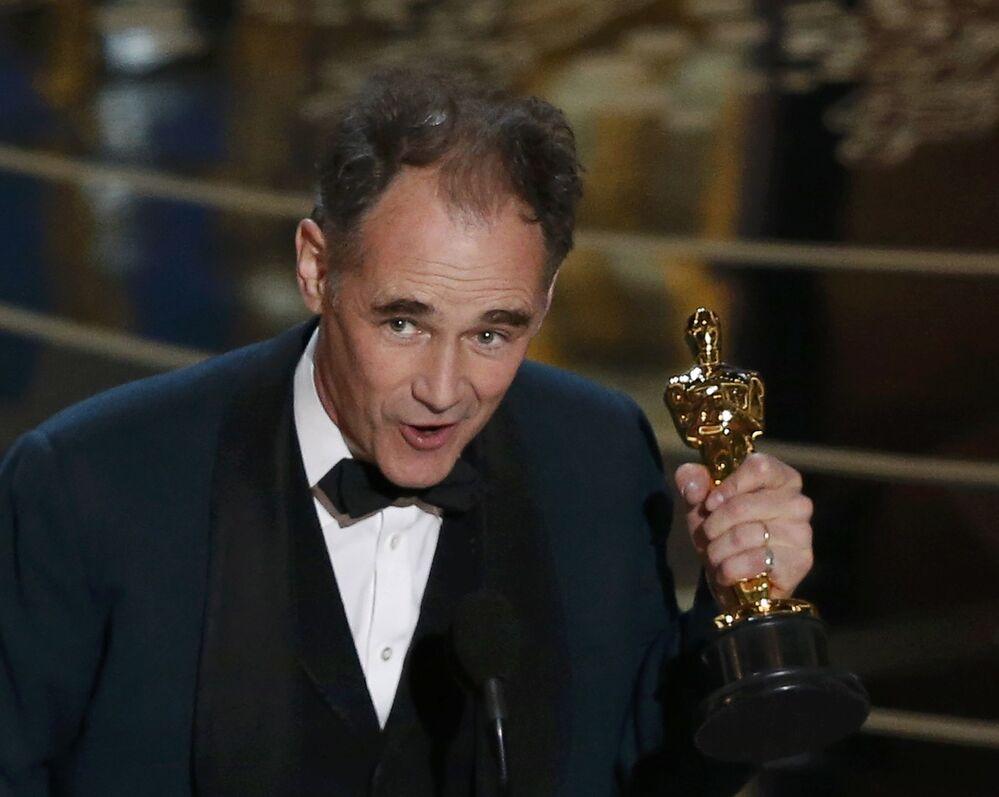 Mark Rylance  'En iyi yardımcı erkek oyuncu' Oscar'ını aldı