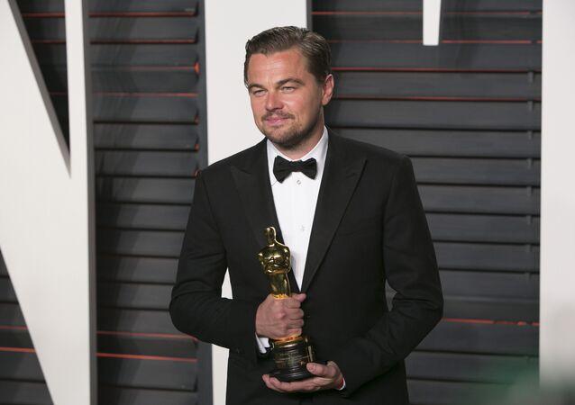 88. Oscar Ödül Töreni'nde 'en iyi erkek oyuncu' ödülü Leonado DiCaprio'nun oldu.