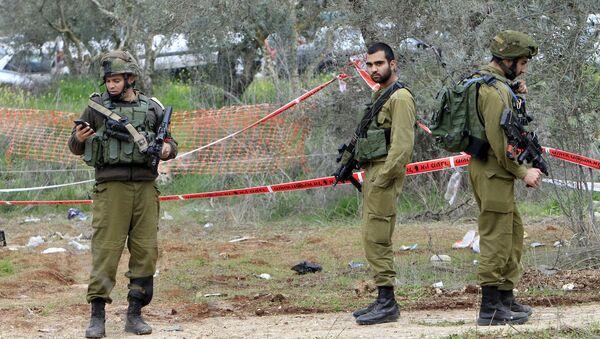 İsrail ordusu askerleri - Sputnik Türkiye