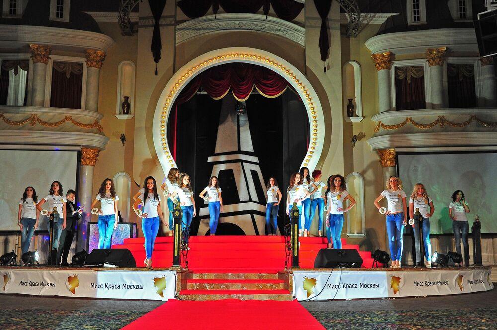 Miss Moscow 2016  yarışmacıları.