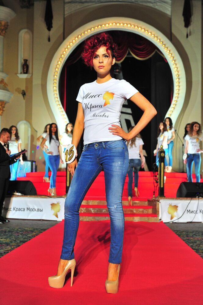 Miss Moscow 2016  yarışmacısı.