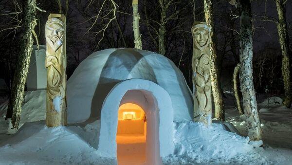 Rusya'nın ilk kardan oteli - Sputnik Türkiye