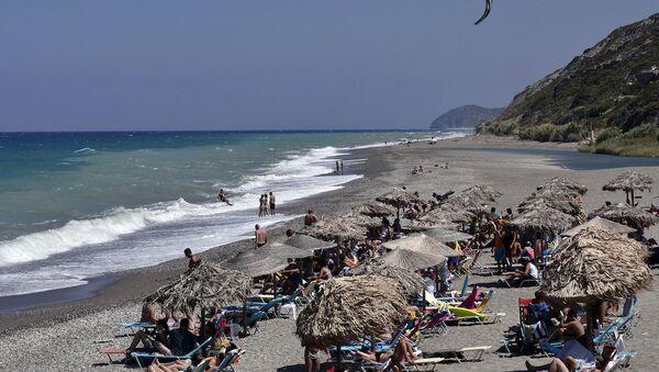 Yunanistan, turizmini Rus turistlere hazırlıyor. - Sputnik Türkiye