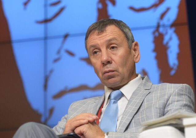 Rusya Federasyonu Toplumsal Odası üyesi ve Siyasi Araştırmalar Enstitüsü Müdürü Sergey Markov