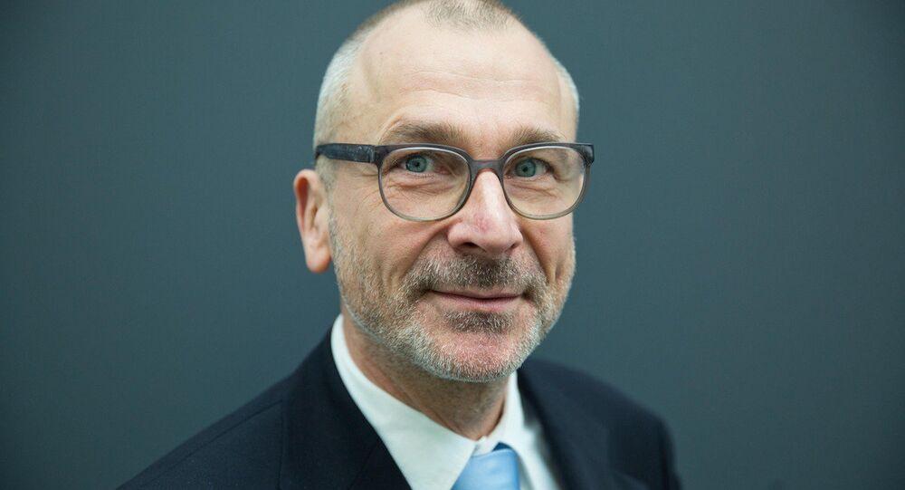 Alman Yeşiller Partisi Milletvekili Volker Beck