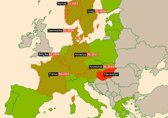 Schengen ülkeleri mülteci kriziyle karşı karşıya