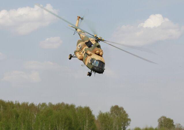Mi-17 helikopter