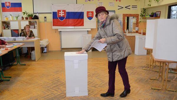 Slovakya'da seçmenler ülkeyi dört yıl yönetecek yeni hükümeti belirlemek için sandık başına gitti. - Sputnik Türkiye