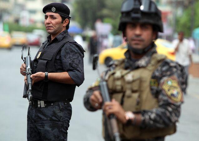 Iraqi police. File photo