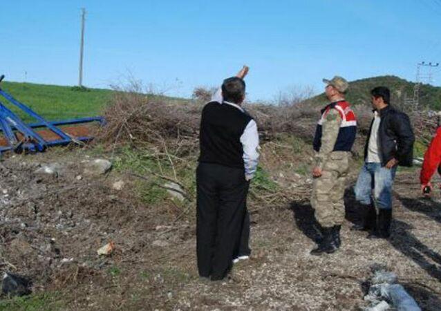 Hatay'a Suriye'den 17 top mermisi atıldı