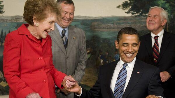 Eski first lady Nancy Reagan öldü - Sputnik Türkiye