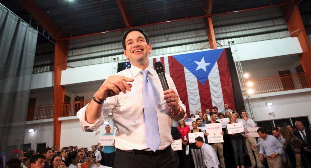 Cumhuriyetçi başkan aday adayı Marco Rubio