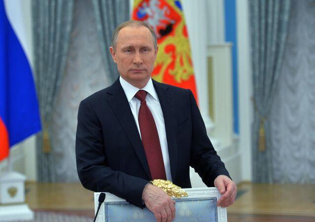 Rusya Devlet Başkanı Vladimir Putin - 8 Mart