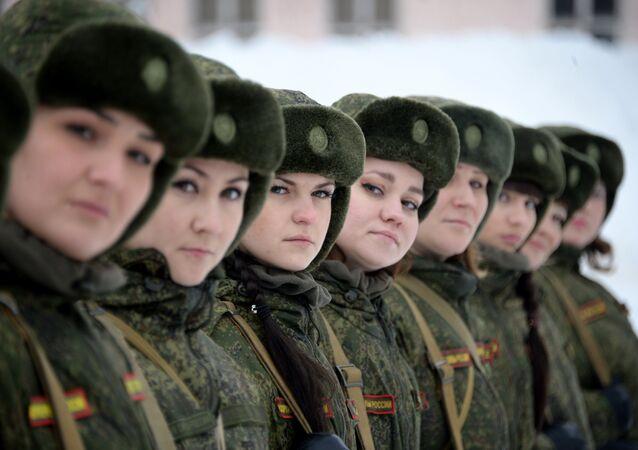 Rus kadın askerleri