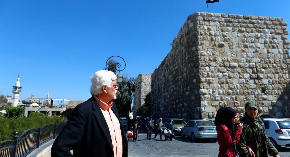 40 yıldır Şam'da yaşayan ABD'li Thomas Webber