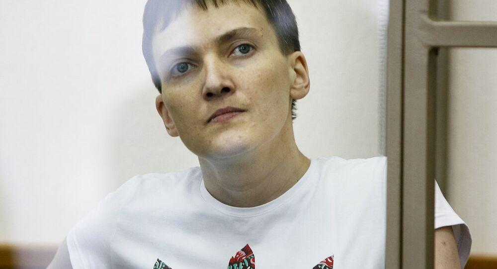 Ukraynalı pilot Nadejda Savçenko