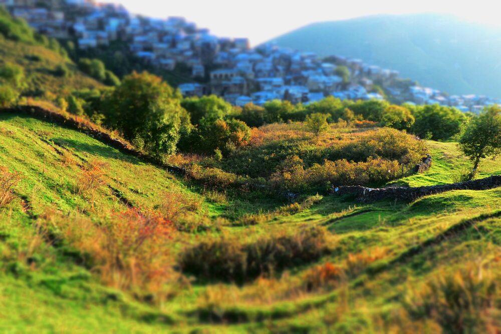 Dağıstan'ın Dahada ilçesindeki Kubaçi kasabası.