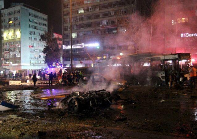 Ankara Kızılay patlama