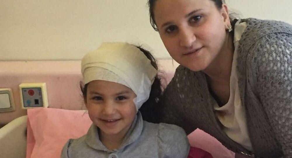 Ankara'daki saldırıda yaralanan 4 yaşındaki Nisanur Alımcı
