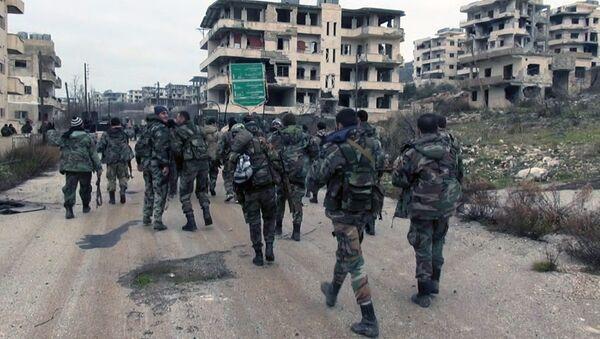 Suriye ordusu- Selma - Lazkiye - Sputnik Türkiye