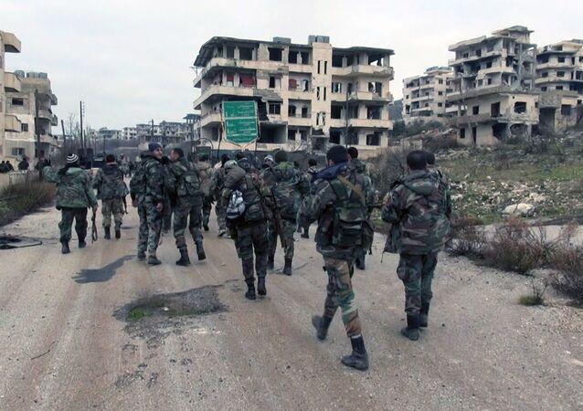 Suriye ordusu- Selma - Lazkiye