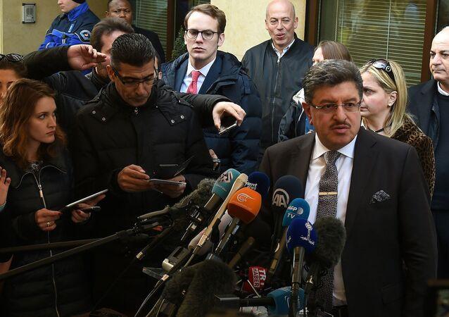 Yüksek Müzakere Komitesi (HCN) Sözcüsü Salim el Muslat