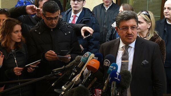 Yüksek Müzakere Komitesi (HCN) Sözcüsü Salim el Muslat - Sputnik Türkiye