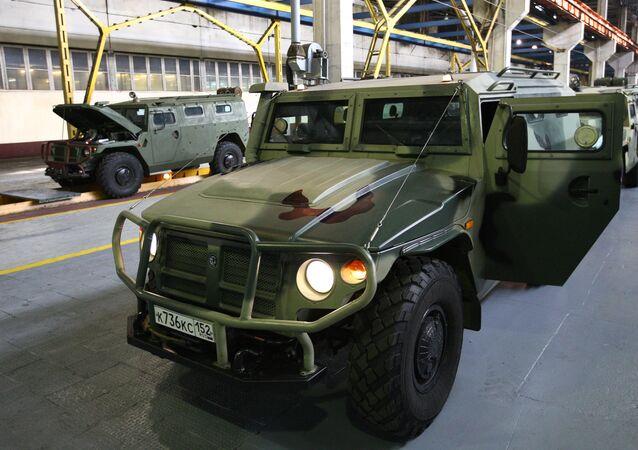 Rostec'e bağlı OPK şirketinin geliştirdiği araç: Kaplan