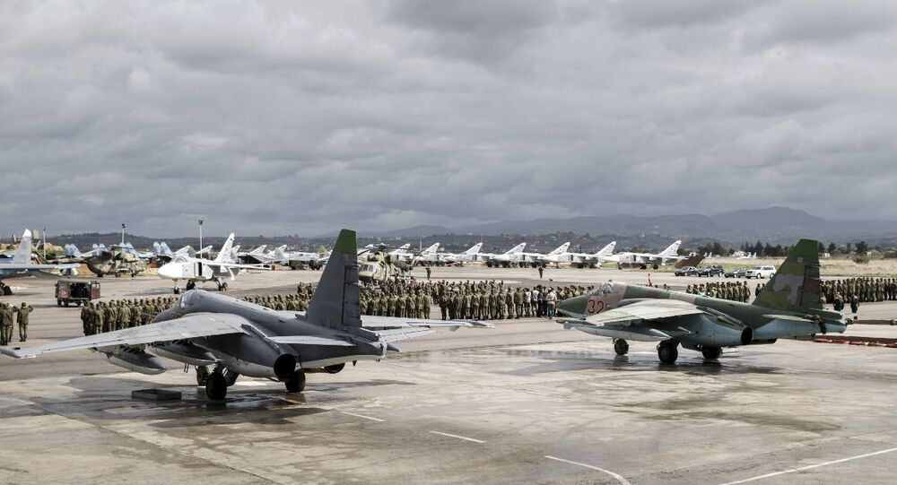 Rusya'nın Hmeymim üssünde 'eve dönüş' başladı