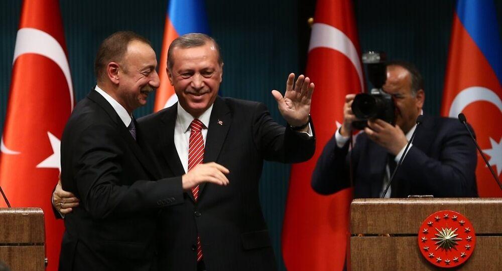 Aliyev, Erdoğan'ı hiçbir zaman yalnız bırakmadı' - Sputnik Türkiye