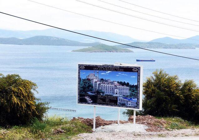 Diyanet, Bodrum'un dünyaca ünlü koyuna 30 milyon liralık tesis yapıyor.