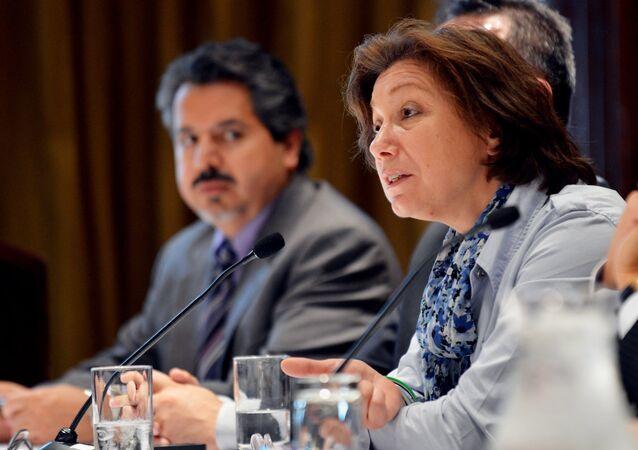 Yüksek Müzakere Komitesi Sözcüsü Basma Kodmani