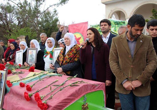 HDP'li Batman Milletvekili Mehmet Ali Aslan ile Siirt Milletvekili Besime Konca
