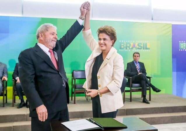 Luiz Inacio Lula da Silva - Dilma Rousseff