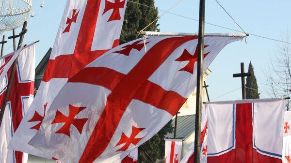 Gürcistan bayrağı - Sputnik Türkiye
