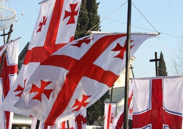 Gürcistan bayrağı