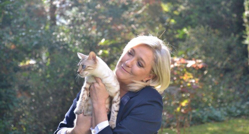 FN lideri Marine Le Pen