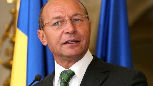 Romanya eski Devlet Başkanı Traian Basescu - Sputnik Türkiye