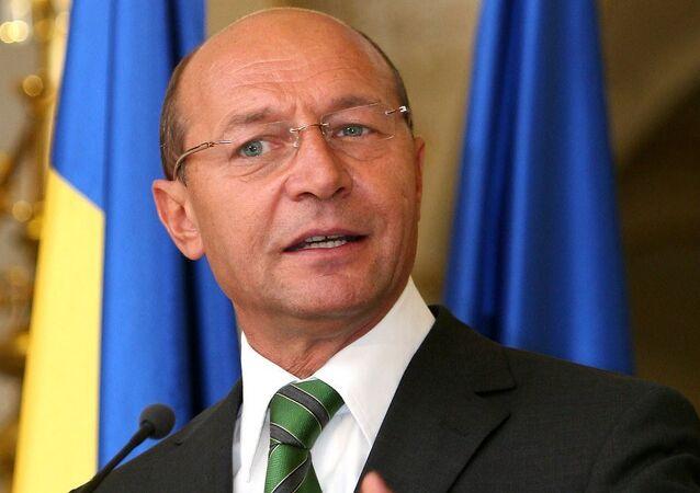 Romanya eski Devlet Başkanı Traian Basescu