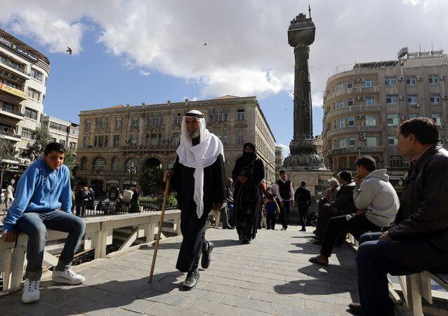 Şam'daki Marjeh Meydanı